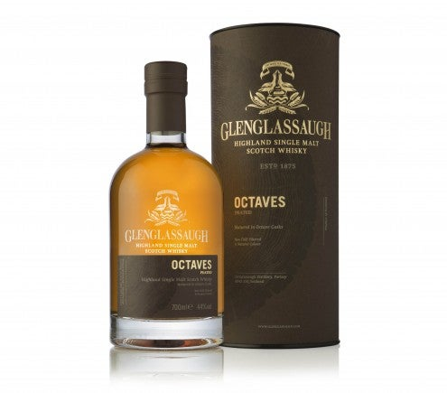 Glenglassaugh Octaves Peated bottle with box