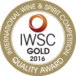 2016 International Wine and Spirits Competition Gold Award